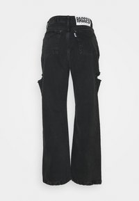 The Ragged Priest - DOUBLE THIH CUT - Relaxed fit jeans - charcoal - 1