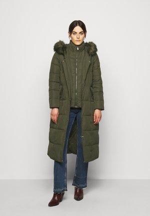 HAND MAXI COAT - Down coat - litchfeild loden