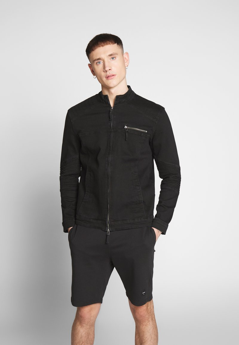 Only & Sons - ONSRAY  - Denim jacket - black denim