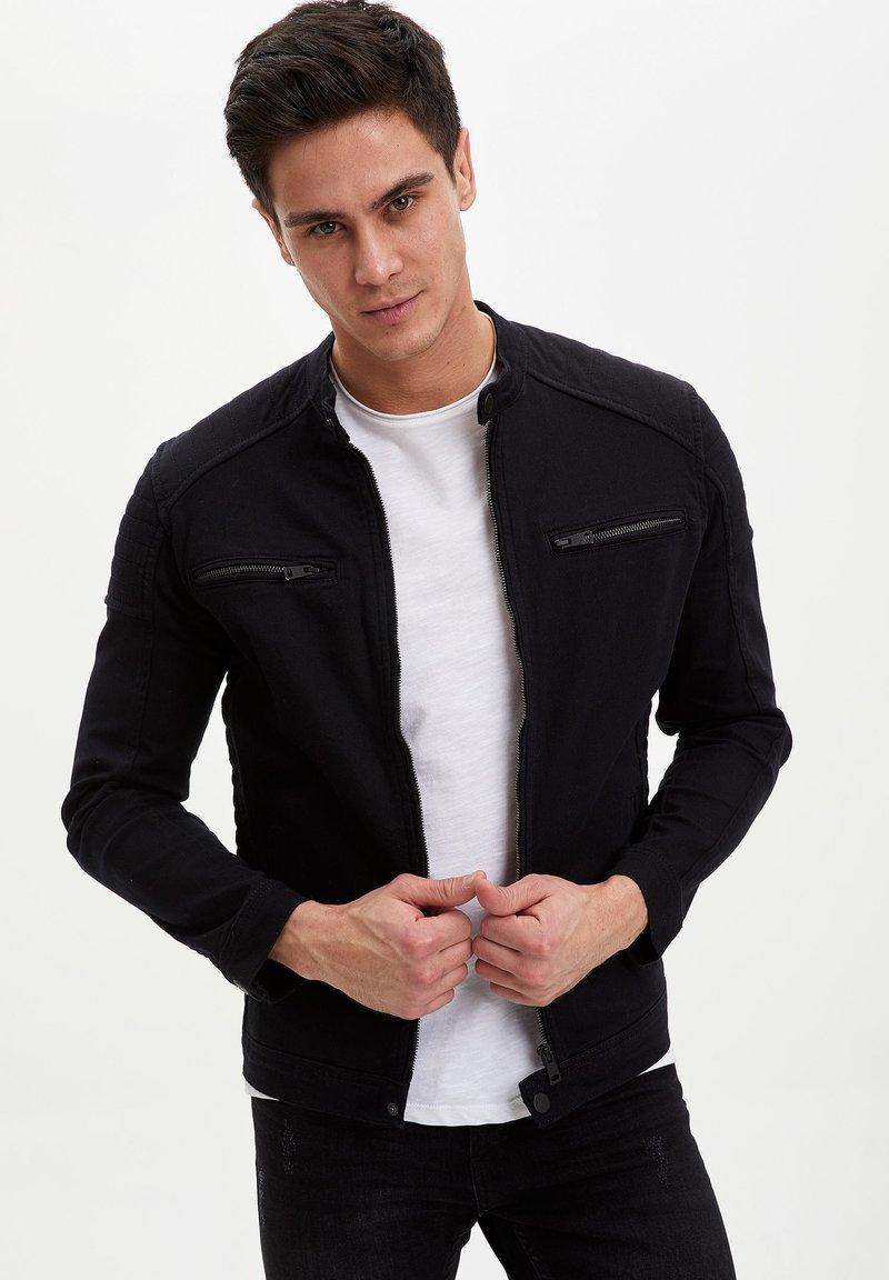 DeFacto - Kurtka jeansowa - black