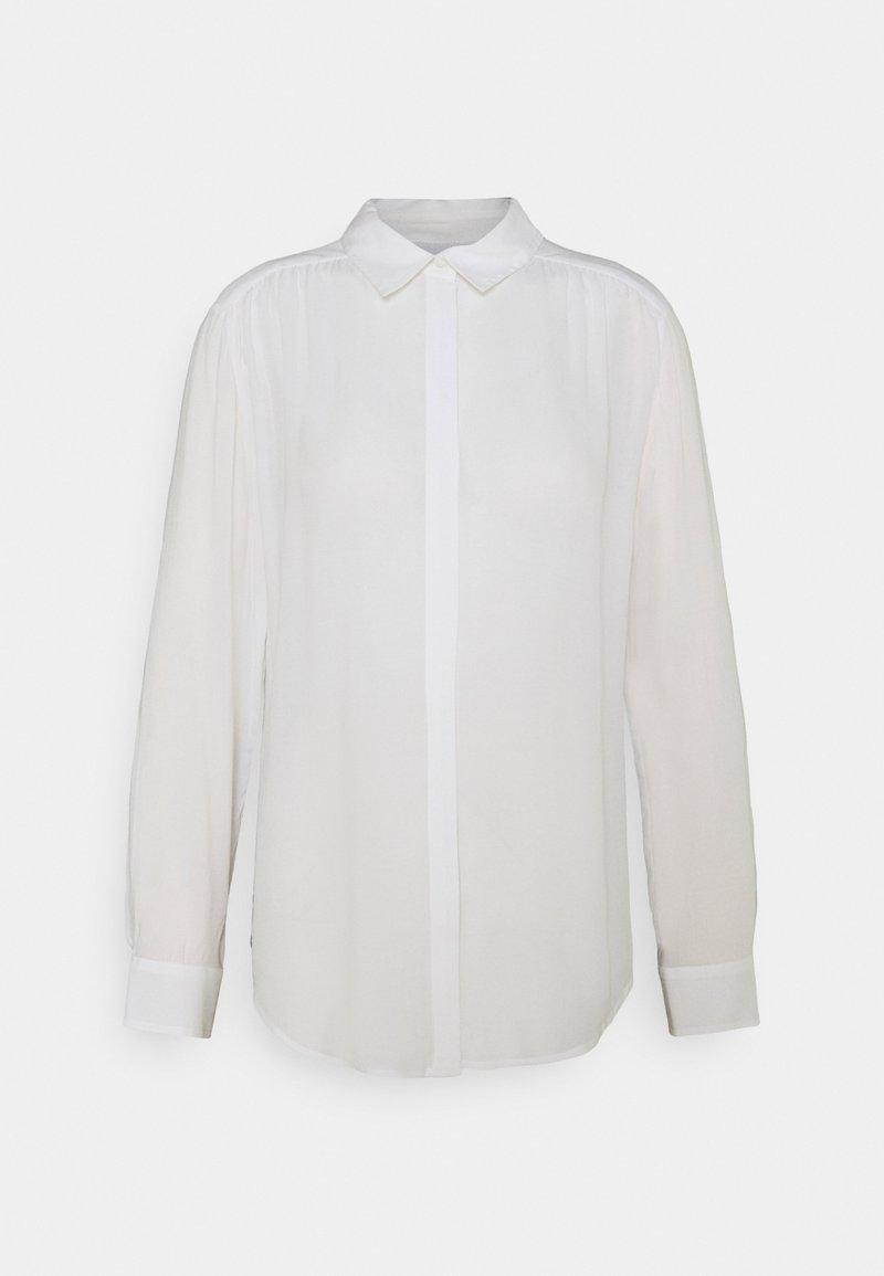 Benetton - Button-down blouse - white
