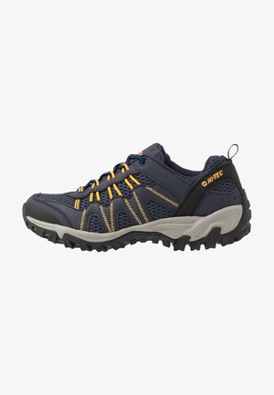 JAGUAR - Hiking shoes - navy/yellow