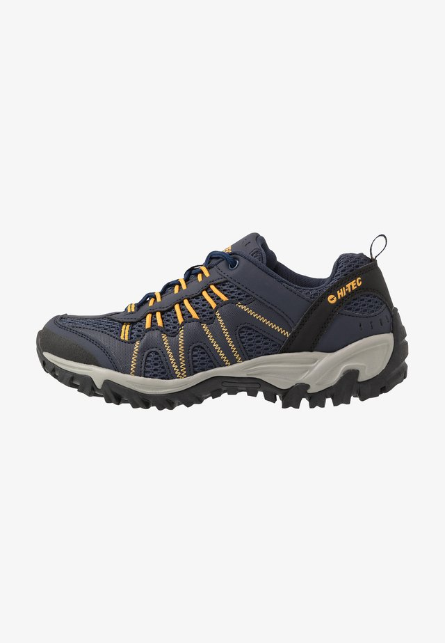 JAGUAR - Zapatillas de senderismo - navy/yellow