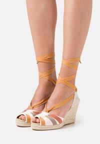 Gioseppo - High heeled sandals - beige - 0