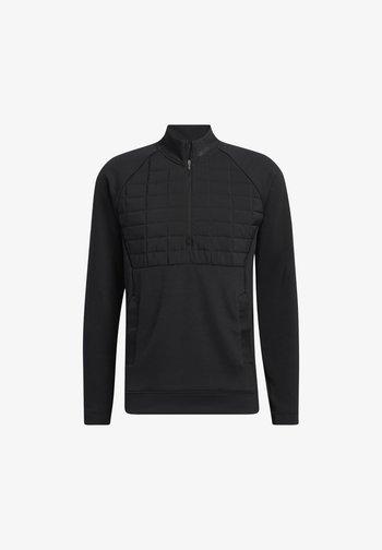 STMNT 1/4 ZIP - Sweatshirt - black