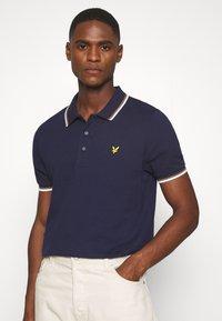 Lyle & Scott - TIPPED  - Polo shirt - navy/white - 0