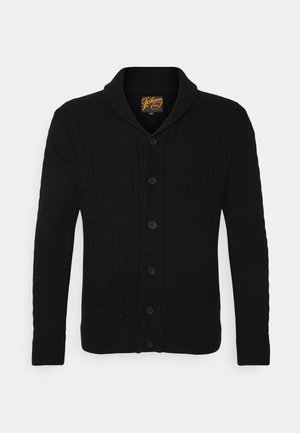 WHENDON CABLE - Cardigan - black