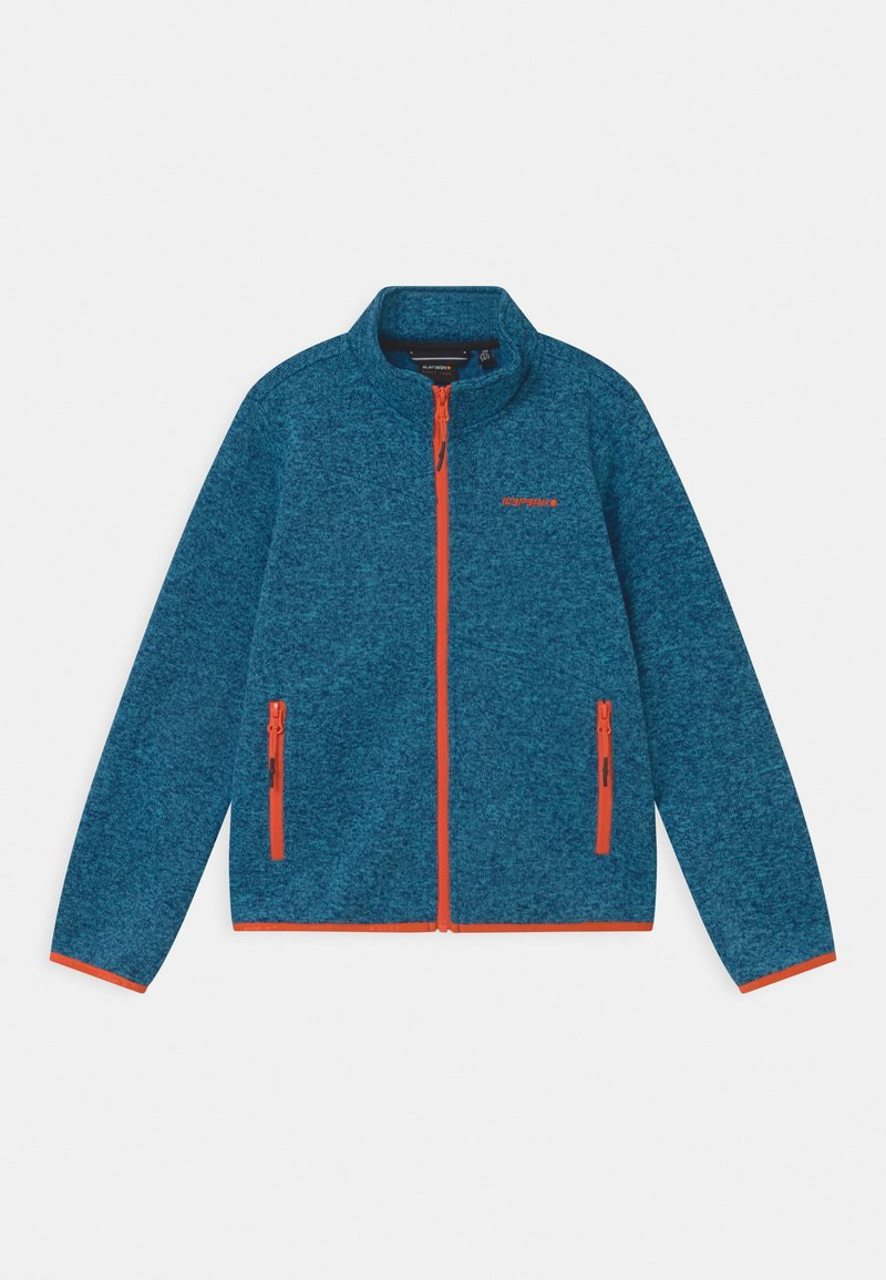 Icepeak - KIRWIN JR UNISEX - Fleece jacket - navy blue