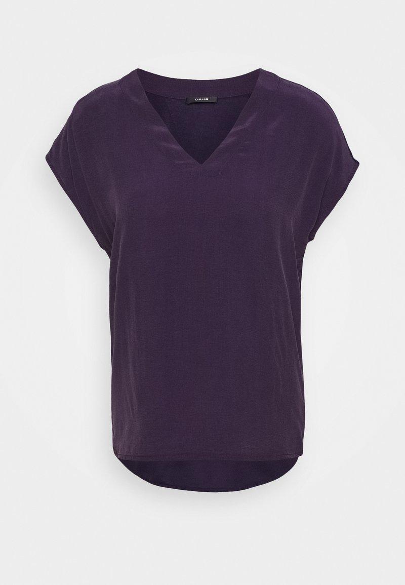 Opus - SILVIA - Bluser - dark violet