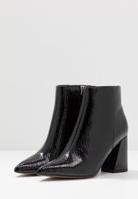 Topshop - HACKNEY POINT - High heeled ankle boots - black - 4