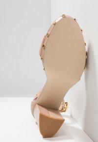 KIOMI - High heeled sandals - nude - 6