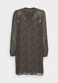 Esprit Collection - DRESSES LIGHT WOVEN - Shirt dress - khaki green - 3