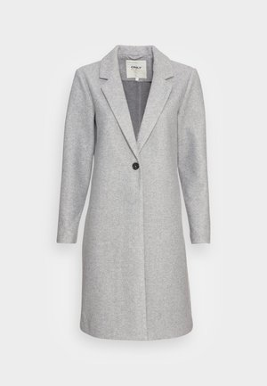 ONLTRILLION COATIGAN  - Klasický kabát - light grey melange