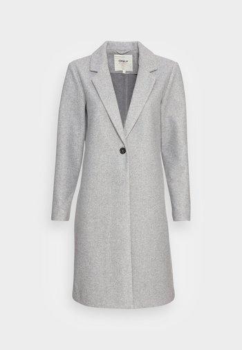 ONLTRILLION COATIGAN  - Classic coat - light grey melange