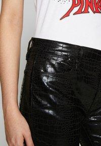 Frame Denim - LE HIGH CROC - Jeans Skinny - noir - 5