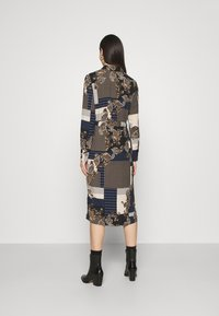 Vero Moda - VMHILDA CALF DRESS - Day dress - navy blazer/hilda - 2