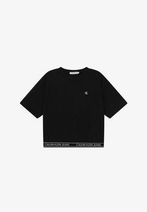LOGO WAISTBAND - Basic T-shirt - black
