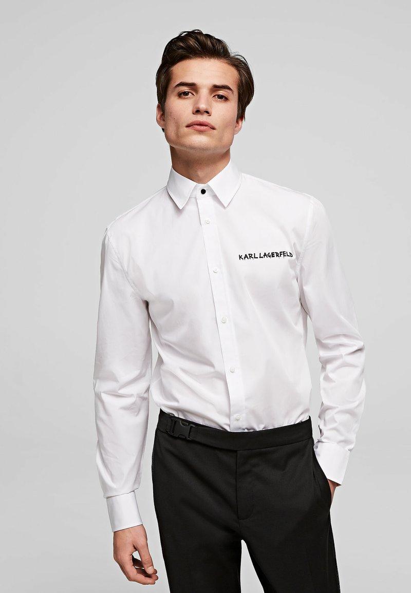 KARL LAGERFELD - Shirt - white