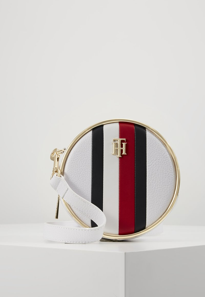 Tommy Hilfiger - STATEMENT CROSSOVER - Across body bag - white