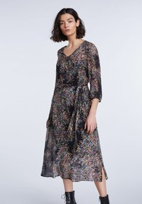 SET - Day dress - black violett - 3