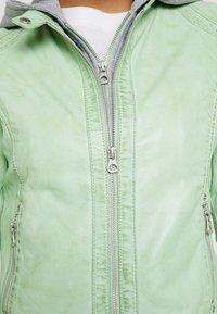 Gipsy - AELLY LAMAS - Skinnjakke - mint - 6