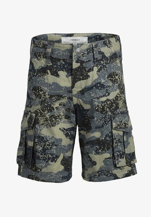 CARGOSHORTS JUNIOR - Denim shorts - dark shadow