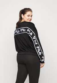 Fila Plus - TALLIS CREW - Sweatshirt - black - 2