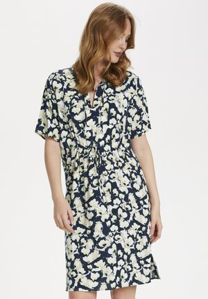 RAFINA  - Day dress - water flower blue