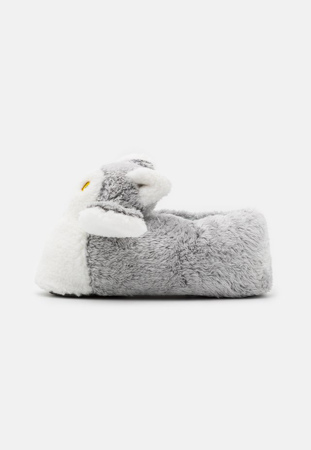 ANIMAL SLIPPERS - Pantuflas - grey