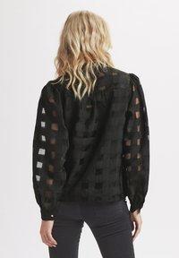 Karen by Simonsen - ELINA - Button-down blouse - meteorite - 1