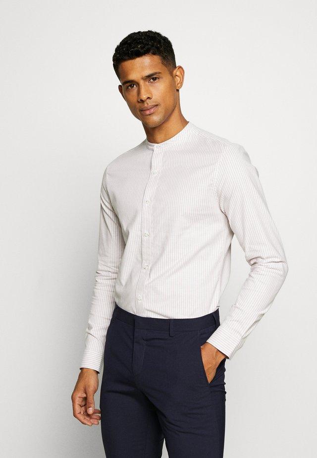 STRIPE OXFORD - Shirt - black
