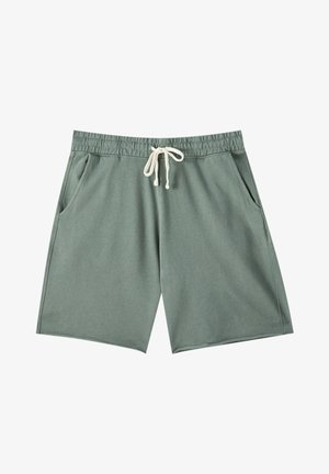 Shorts - mottled light green