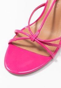 Who What Wear - FREYA - Sandals - magenta - 2
