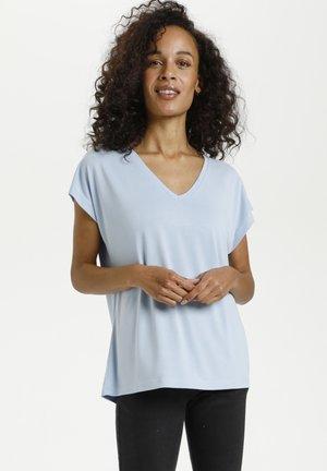 LISE - Basic T-shirt - chambray blue