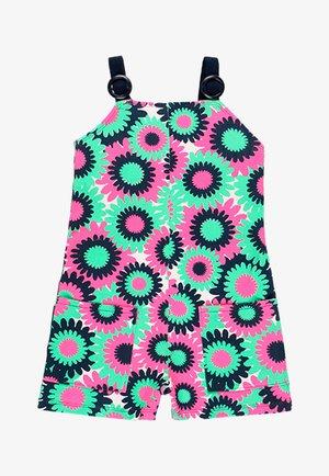 Jumpsuit - blue/pink