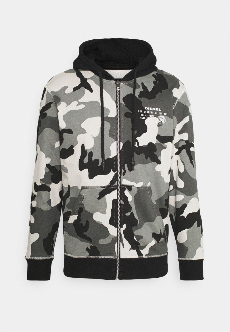 Diesel - UMLT-BRANDON-Z FELPA - Zip-up hoodie - grey