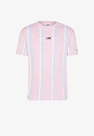 Print T-shirt - romantic pink