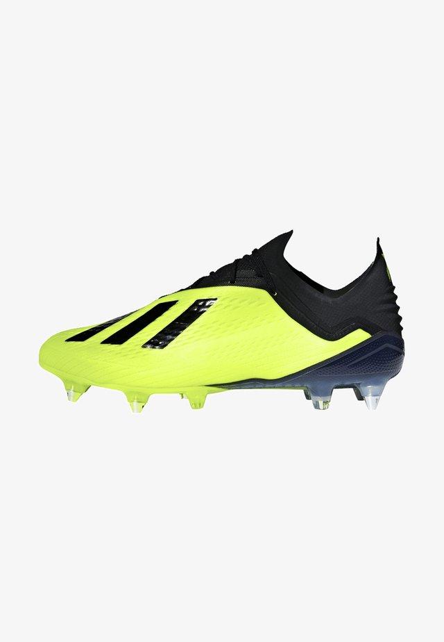 X 18.1 Soft Ground Boots - Voetbalschoenen met metalen noppen - yellow
