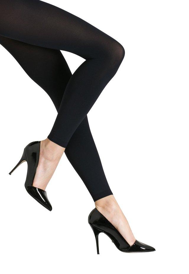 PURE MATT 100 - Leggings - Stockings - marine