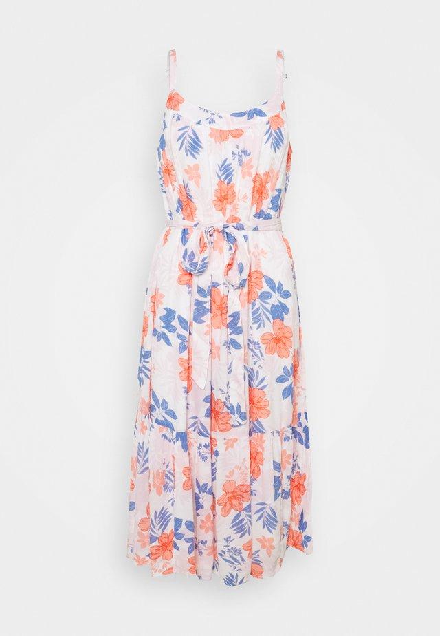 TIE WAIST DRESS - Freizeitkleid - white