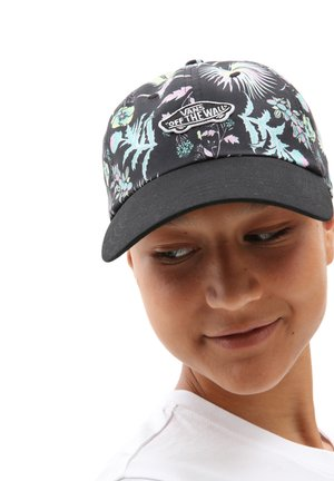 WM COURT SIDE PRINTED HAT - Cap - califas black