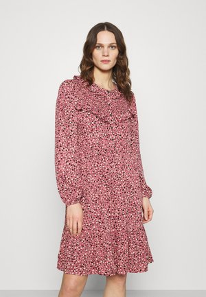 PRINTED DRESS - Shirt dress - mesa rose