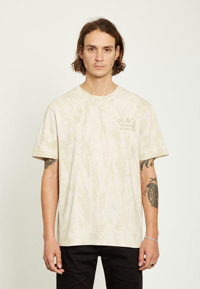 MUCHACHO  - Print T-shirt - beige