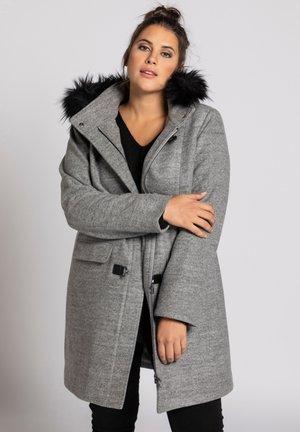 Classic coat - grijs-mêlee