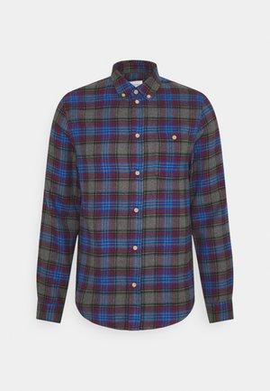 Shirt - mottled dark grey/blue