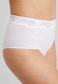 Sloggi - THE VINTAGE MAXI 2 PACK - Briefs - black/white - 5