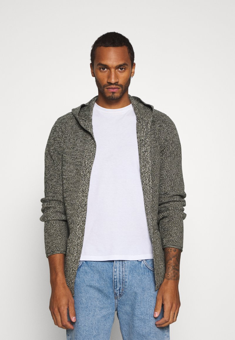 Redefined Rebel - CABE - Cardigan - loden green