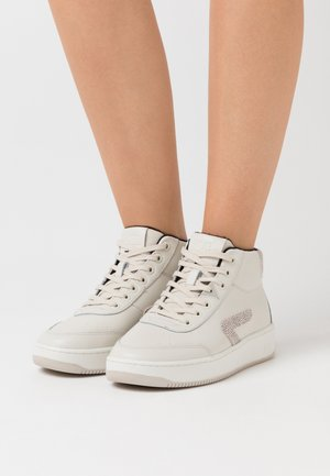 BASELINE MID - High-top trainers - light bone/vista/offwhite