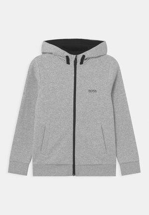 Sweater met rits - chine grey