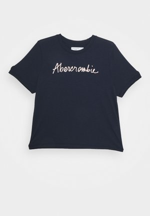 SCRUNCHIE TEE - T-shirt print - navy